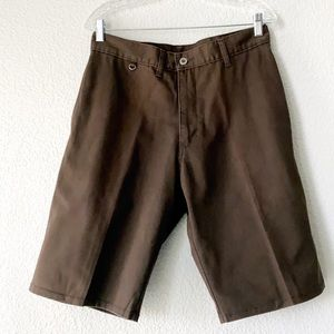 Hurley brown shorts 32W